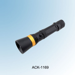 New! Rechargeable & Zoomable High Power CREE R2 Flashlight ACK-1169