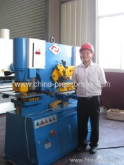 universal hydraulic ironworkers machinery