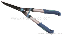 garden extending hedge cutter with metal tube hand