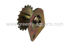 John Deere planter 19 teeth drive sprocket with hex bearing