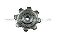 A102448 Agricultural lower idler gathering chain 8 teeth sprocket for John Deere Case-IH and New Holland