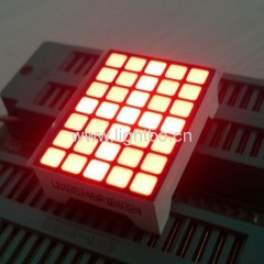 3.39mm Orange 5*7 Square dot matrix led display row anode for elevator position indicator