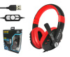 USB Stereo Headphone with Noice Cancelling Microphone (KOMC) KM-8300