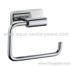 Oblong Brass Toilet Paper Holder