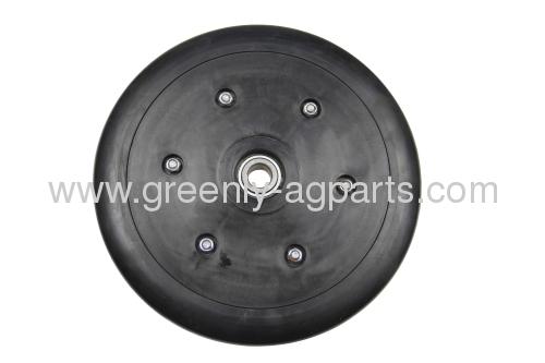 "N282296 John Deere V shaped 1"" x 10"" Seed Press wheel with bearing"