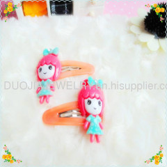 Resin Hair Clips for children Bobby Pin