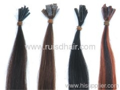 Pre-bonded hair extensions / keratin hair extensions