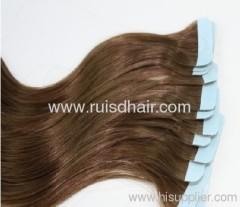 100% human hair tape hair extensions