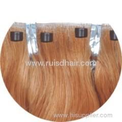 Skin weft / PU weft (100% hand tied hair weft)