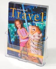 Plastic leaflets holder A4