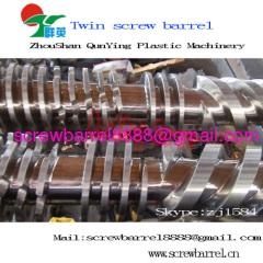 bimetallic conical twin screw