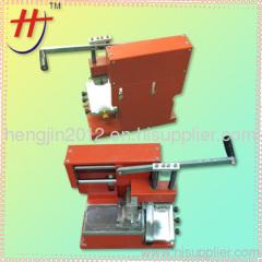 Hengjin sealed ink cup manual pad printing machine small pad