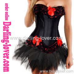 Sexy Fashion Hot Sale Corset mathing G-string