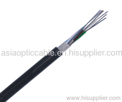 Armored and Double Sheathed Outdoor Cable GYFTY53