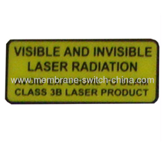 silk printing warning nameplates supplier
