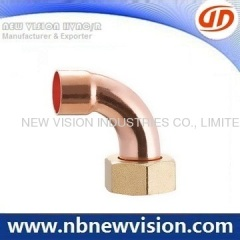 Copper Pipe Fitting with Nut