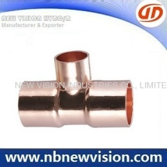 Copper Tee Fittings - ASTM B16.22 Standard