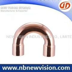Red Copper Return Bend