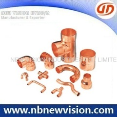 Endfeed Copper Fitting for EN 1254-1 Standard