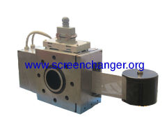auto screen changer for extruder-pipes