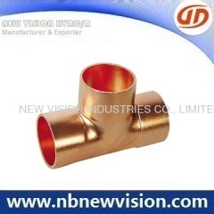 Solder Joint Copper Pipe Fitting