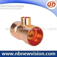 Copper Tee Pipe Fitting
