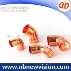 Copper Pipe Elbow Fitting
