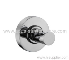 Round Bathroom Single Robe Hook