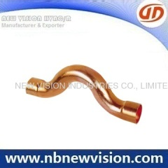 Copper Pipe Cross Fitting