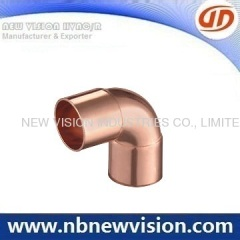90 Degree Copper Elbow Fitting