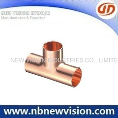 Copper Tee for HVAC