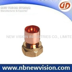 Copper Pipe Fitting with Brass Fitting