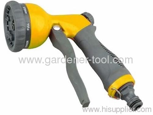 Metal front trigger garden water spray gun