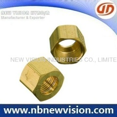 Brass Nut Thead Fitting