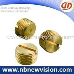 "Brass Air Vent Fittings for 3/8"" Type"