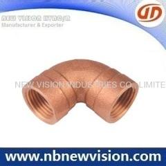 Plumbing Bronze Elbow Fitting