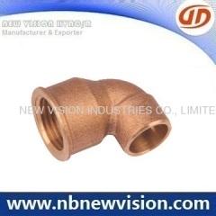 Plumbing Bronze Pipe Elbow