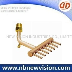 HVAC Copper Pipe Assembly