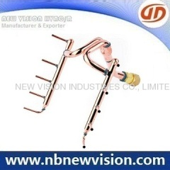Copper Tubing Pipe with Brass Flare Fittings