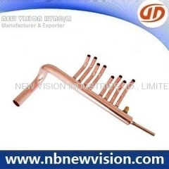 Copper Manifold for PEX System