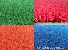 pink artificial grass for hockey