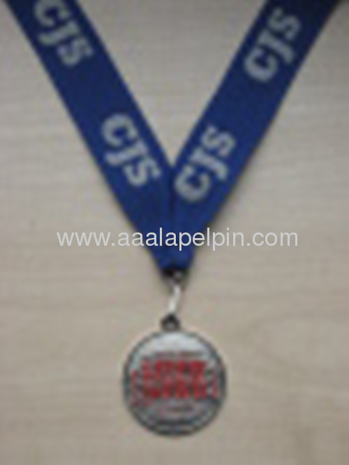 Medallion with Various Color Ribbon