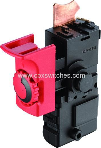 Slim4 switches for power tool and garden tool