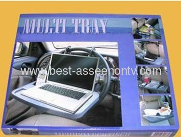 Portable Car Back Seat Folding Multi Tray Laptop Notebook Desk Table Seat Mount Dining Table For Car