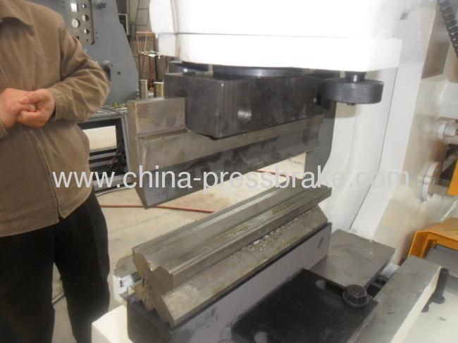 hydraulic steel worker machine