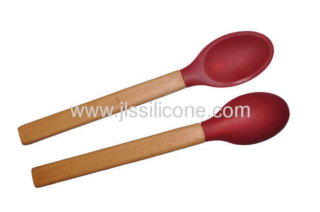 Silicone Spoon with handle
