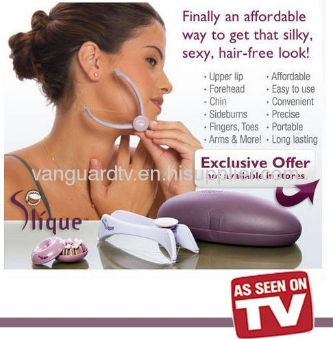 Slique Hair Removal System/Slique Face and Body Hair Threading System
