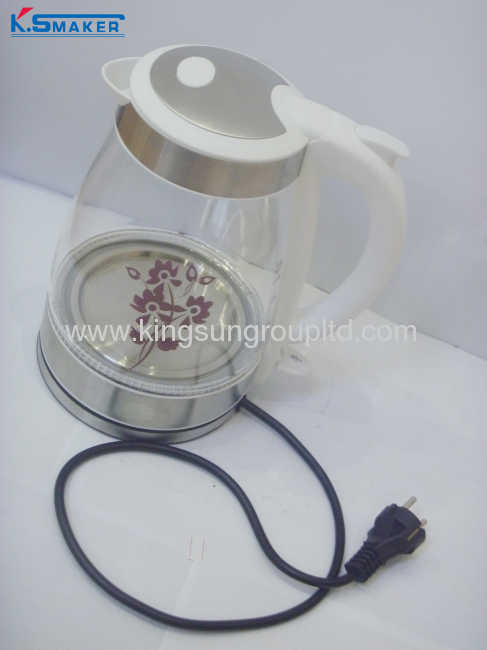 cordless electric glass kettle 1.8L