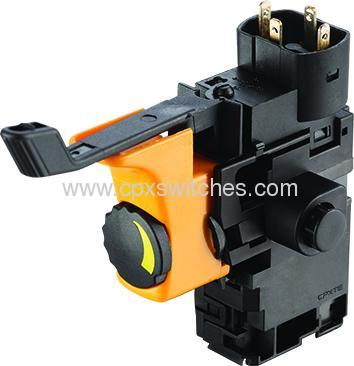 Slim2 switches for power tool and garden tool
