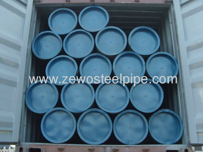 ASTM A106GR.B/A53GR.B BLACK OIL FLUID SMLS STEEL PIPE